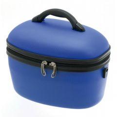 Geanta ABS pentru cosmetice 36 cm Davidt's albastru inchis