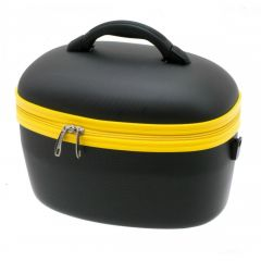 Geanta ABS pentru cosmetice 36 cm Davidt's negru + auriu