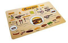 Placemat Burger 43*29 cm