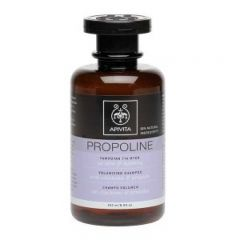 Sampon propoline pentru volum cu china (quinine) si propolis, apivita, 250 ml