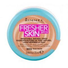Fond de ten Rimmel Fresher Skin, 303 - True Nude, 25 ml