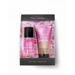 Set cadou victoria secret, pure seduction gift set, spray corp 75 ml + body lotion 75 ml