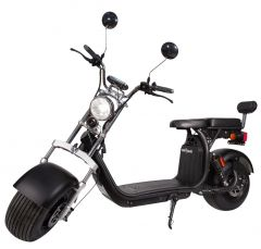 Trotineta Electrica Smart Balance™, SB50 Extended Range, Autonomie 120 Km, Viteza maxima 25 km/h, 2 baterii, Timp incarcare 6h, Baterie detasabila 20 Ah, Suspensie Fata-Spate, Putere motor 2000W