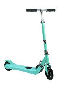 Trotineta electrica SB Kids 1, Smart Balance™, Pliabila, Viteza maxima 6 km/h, Autonomie 6 km, Puterea motorului 150 W, Blue