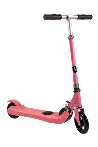 Trotineta electrica SB Kids 1, Smart Balance™, Pliabila, Viteza maxima 6 km/h, Autonomie 6 km, Puterea motorului 150 W, Pink