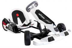 SB Kart, Smart Balance, putere 800 W, autonomie pana la 15 km, viteza maxima pana la 24 km/h, Alb/Negru