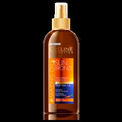 Ulei de plaja, Eveline Cosmetics, pentru accelerarea bronzului, Rezistent La Apa, 150 ml