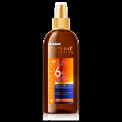 Ulei de plaja, Eveline Cosmetics, Rezistent la apa, SPF 6, 150 ML