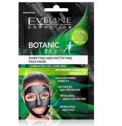 Masca de fata, Eveline Cosmetics, Botanic Expert Purifying & Mattifying, 10 ml