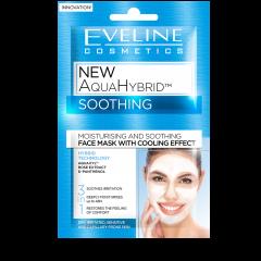 Masca de fata, Eveline Cosmetics, New Aqua Hybrid, Hidratare si Catifelare cu efect racoritor 3in1, 10 ml
