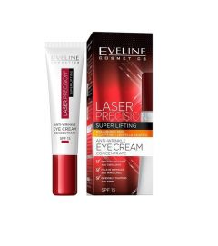 Crema de ochi, Eveline Cosmetics, Laser Precision Super Lifting, SPF 10, 15 ml
