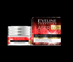 Crema de fata, Eveline Cosmetics, Laser Precision Super Lifting, SPF 8, 60+, 50 ml