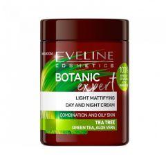 Crema de fata, Eveline Cosmetics, Botanic Expert, matifianta, cu extract de arbore de ceai, 100 ml