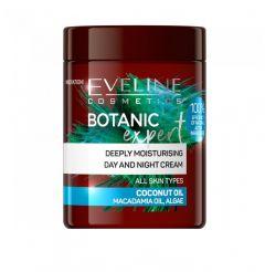 Crema de fata, Eveline Cosmetics, Botanic Expert, Hidratanta, Coconut Oil, 100 ml