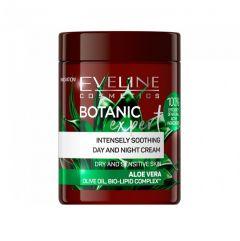 Crema de fata, Eveline Cosmetics, Botanic Expert, calmanta, cu Aloe Vera, 100 ml