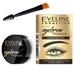 Crema pentru spracene, Eveline Cosmetics, Dark Brown, Waterproof, set