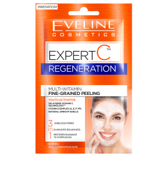 Masca de fata, Eveline Cosmetics, Expert C, Peeling pentru regenerare