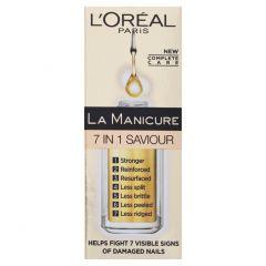 Ser unghii L'Oreal Paris La Manicure Miracle Nail Repair 7 in 1, 5 ml