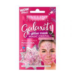 Masca de fata cu sclipici Eveline Galaxity Magic Cristal 10 ml