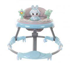 Premergator cu figurine pentru copii,Pliabil , JK619 MICMAX ,Albastru