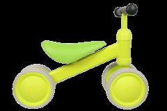 Tricicleta Verde  cu 4 roti din spuma EVA , cadru metalic , MICMAX , JP11