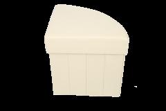 Taburet multifunctional cu spatiu de depozitare ,TB78 , BEJ , Grunberg