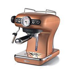 Espressor manual Ariete Classic, 1389 Cupru, Sistem cappuccino, 15 Bar