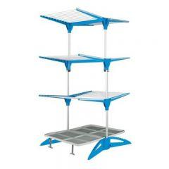Uscator haine, Vertical, 60 metri liniari, Albastru, Maxi Blue
