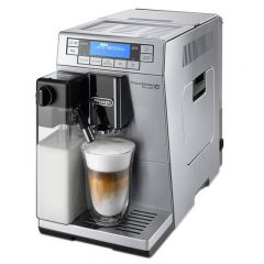 Espressor automat De'Longhi PrimaDonna XS ETAM 36.365.M, 1450W, 15 bar, 1.3 l, Negru Inox