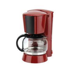 Filtru de cafea Studio Casa RB2FC Neology, 900 W, 1.5 l, Carafa sticla, Rosu/ Negru