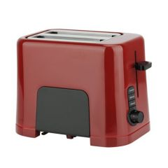 Prajitor de paine Studio Casa RB1T Neology, 850 W, 2 Felii, Functie decongelare, incalzire si anulare, Rosu / Negru