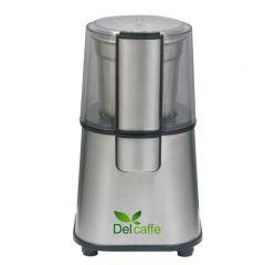 Rasnita Del Caffe Grind Master, 220W, 60g cafea, cutit inox, functie Puls, Inox