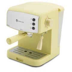 Espressor manual Studio Casa Retro 90, Dispozitiv cappuccino, 15 Bar, 850 W, Galben