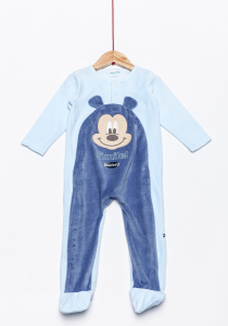 Salopetă noapte bebe  Mickey 1/36 luni