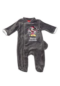 Pijama Crăciun 2 piese bebe Mickey 3/36 luni