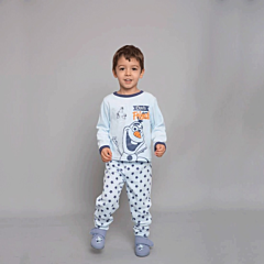 Pijama  fleece bebe Olaf 6/36 luni