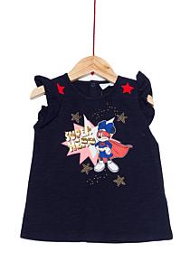 Tricou mânecă scurtă bebe 3/36 luni Minnie