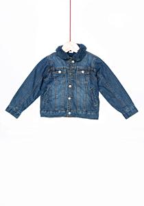 Jachetă denim bebe 6/36 luni