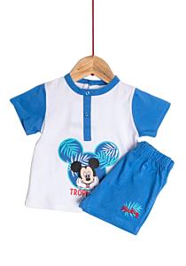 Pijama mânecă scurtă bebe 9/36 luni Disney