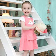 Set tricou și rochie bebe 6/36 luni