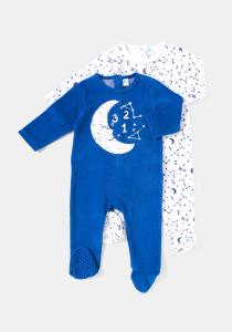 Set x2 salopete bebe 0/23 luni