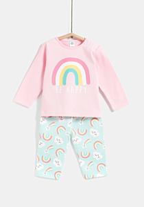Set x2 pijamale bebe 6/36 luni