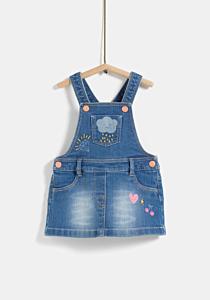 Sarafan jeans bebe 6/36 luni
