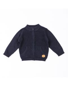 Jachetă tricotată bebe 6/36 luni