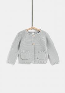Jachetă tricotată nou născut 0/12 luni