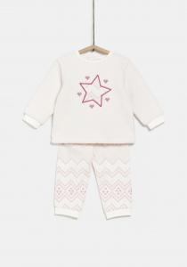 Pijama 2 piese bebe 9/36 luni
