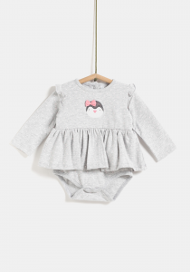 Set rochie și body nou născut 0/12 luni