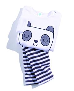 Pijama 2 piese bebe 6/36 luni