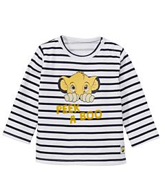 Bluză mânecă lungă bebe 6/36 luni