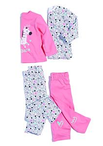 Set x2 pijamale bebe 9/36 luni